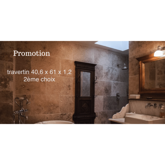 promotion travertin choix 2